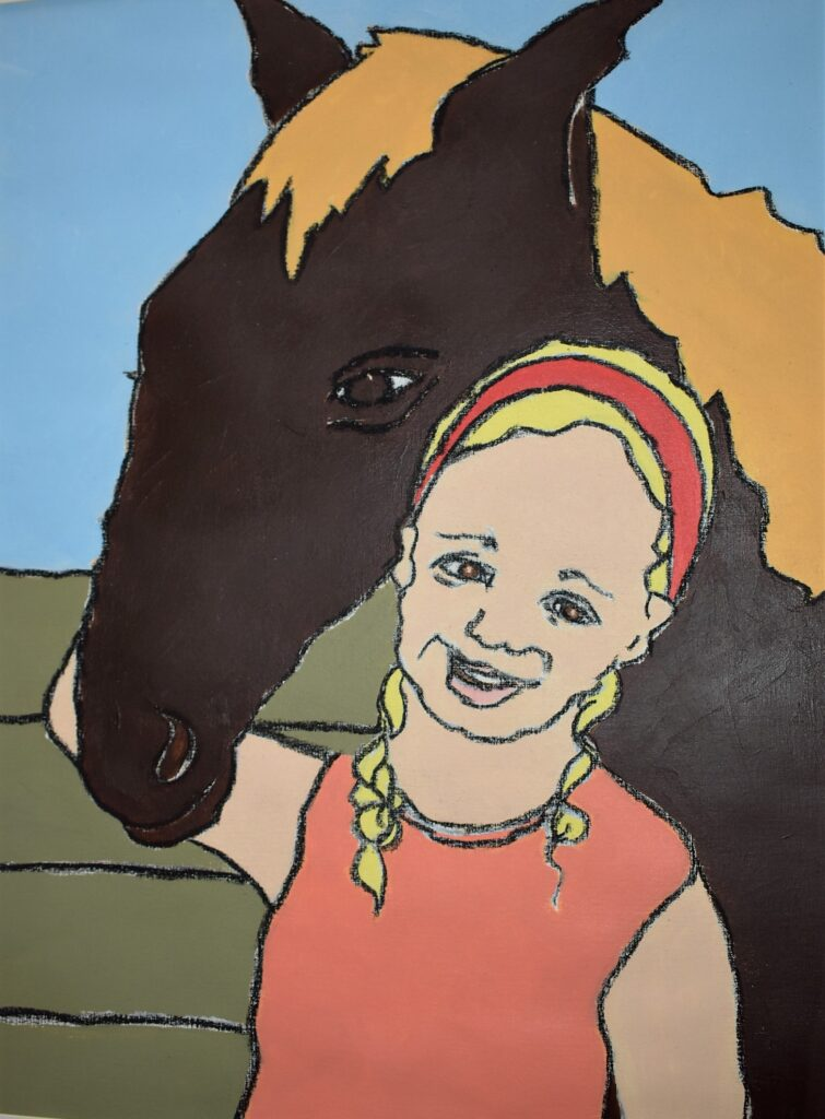 Girl with Horse.